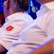 NLD/Amsterdam/20170916 - Uitreiking Majoor Boszhardprijs 2017, blouse met logo Leger des Heils