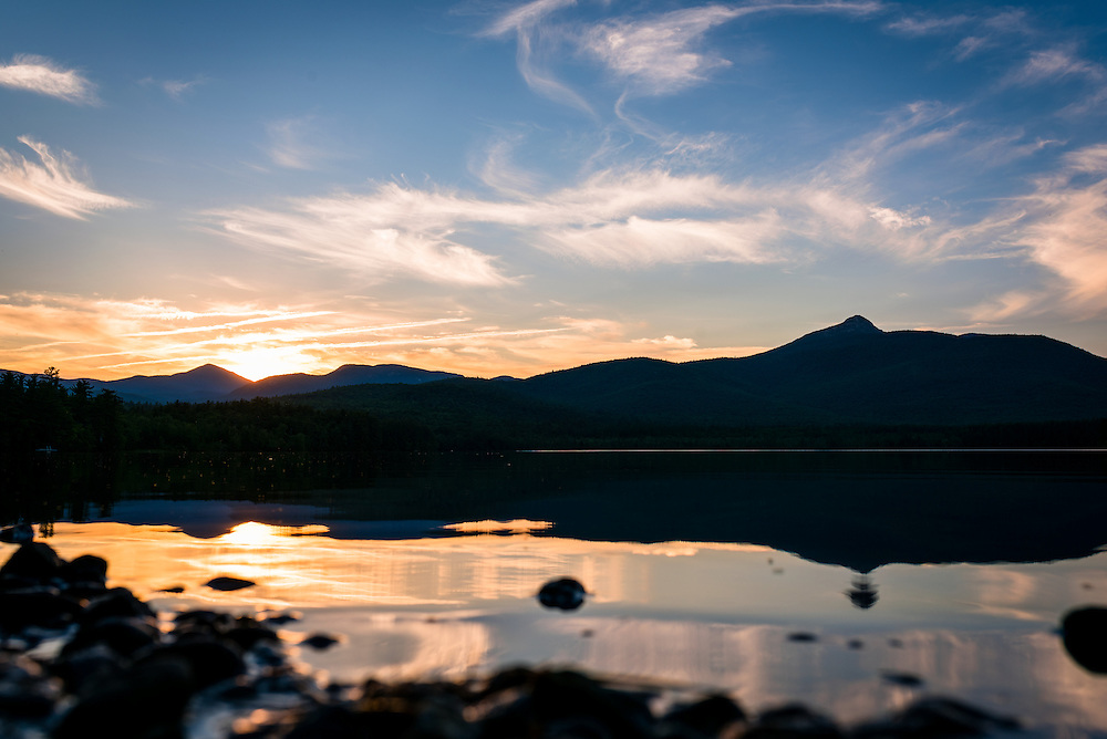 Mount Chocorua at Sunset on Chocorua Lake, NH