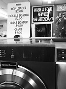 Life at the laundromat in California