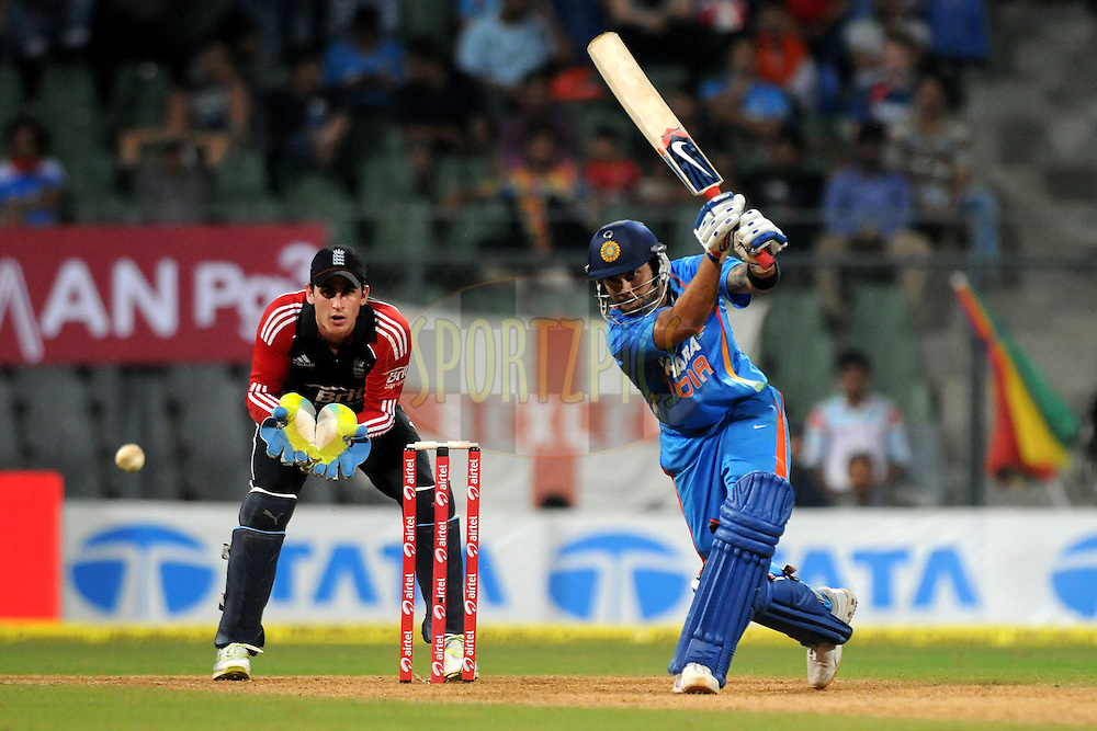 Virat Kohli of India bats during the 4th One Day International ( ODI ) match between India and England held at the Wankhede Stadium, Mumbai on the 23rd October 2011..Photo by Pal Pillai/BCCI/SPORTZPICS