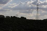 Varginha_MG, Brasil.<br /> <br /> Rede de transmissao de energia em meio ao cafezal, no municipio de Varginha, localizado no sul do estado de Minas Gerais.<br /> <br /> Transmission network power in coffee plantation, in Varginha, located in the southern state of Minas Gerais.<br /> <br /> Foto: RODRIGO LIMA / NITRO