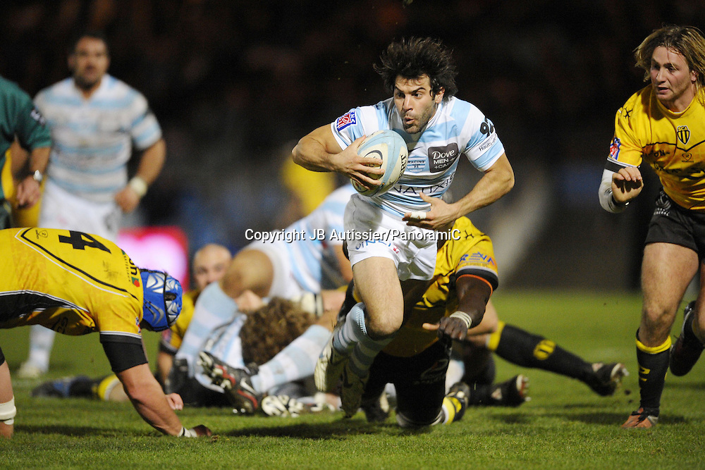 Jerome Fillol - Racing Metro 92 / Albi - Top 14 Top14 - Rugby - 27.11.2009 - largeur action