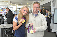 Ultimate Drive Event at Specialist Cars Tring, Olympic gold medallist Laura Trott does a meet and greet.