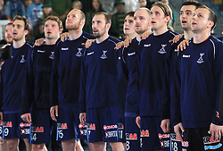 Slovenian Team at qualification match for  Euro 2010 in Austria between national teams of Slovenia and Germany, Group 5, on November 2, 2008 in Arena Zlatorog, Celje, Slovenia. (Photo by Vid Ponikvar / Sportal Images)/ Sportida
