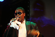 Josh X performs at SOB's to packed audience and WBLS Executives hels at SOB's on August 27, 2009 in New York City