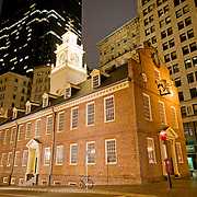 Old State House located at the intersection of Washington and State Streets
