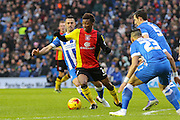 Birmingham City midfielder Demarai Gray (7) during the Sky Bet Championship match between Brighton and Hove Albion and Birmingham City at the American Express Community Stadium, Brighton and Hove, England on 28 November 2015. Photo by Phil Duncan.