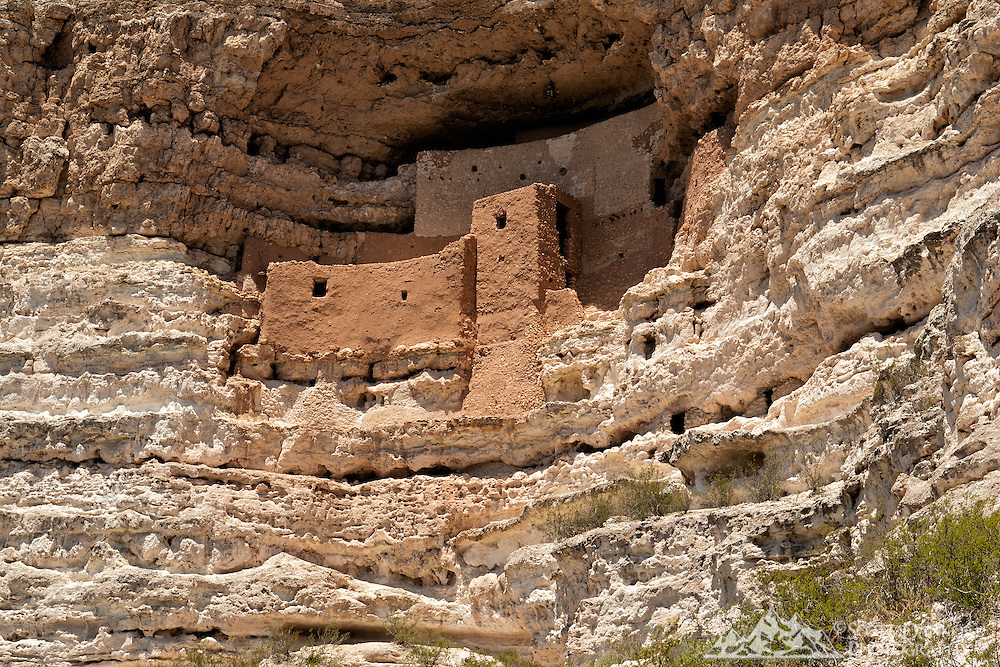 Montezuma Castle National Monument, Arizona.