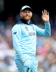 England's Jonny Bairstow during the ICC Cricket World Cup group stage match at Headingley, Leeds.