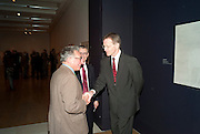 KASMIN; SIR NICHOLAS SEROTA, Watercolour, Tate Britain. London. 14 February 2011. -DO NOT ARCHIVE-© Copyright Photograph by Dafydd Jones. 248 Clapham Rd. London SW9 0PZ. Tel 0207 820 0771. www.dafjones.com.