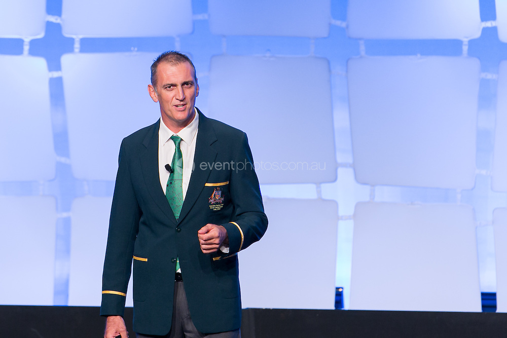 Mick Colliss. Plenary. Day 2. MFAA. New South Wales. Photo By Pat Brunet/Event Photos Australia