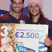 NLD/Hilversum /20131210 - Sky Radio Christmas Tree For Charity 2013, Jan Kooijman en Juvat Westendorp