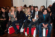 RENEE O'BRIEN; ROSS KEMP; CHARLOTTE TAYLOR; BAND MEMBERS OF BLAKE; HUMPHREY BERNEY; JULES KNIGHT;  , Stephane St. Jaymes Spring Summer 2011 fashion show.<br /> The Westbury Mayfair, Bond Street, London,DO NOT ARCHIVE-© Copyright Photograph by Dafydd Jones. 248 Clapham Rd. London SW9 0PZ. Tel 0207 820 0771. www.dafjones.com.