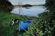 Sligo. Inishfree lake loved by Nobel Prize-winning poet W.B. Yeats.