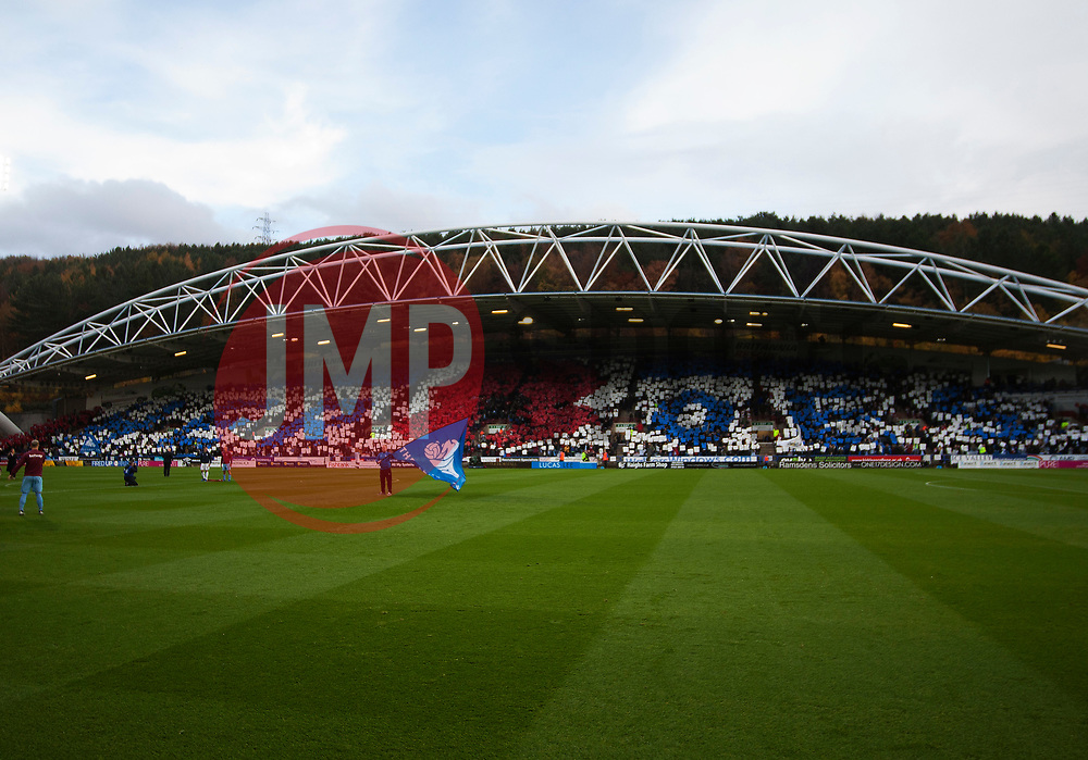 General view of The John Smith's Stadium ahead of Remembrance sunday - Mandatory by-line: Jack Phillips/JMP - 10/11/2018 - FOOTBALL - The John Smith's Stadium - Huddersfield, England - Huddersfield Town v West Ham United - English Premier League