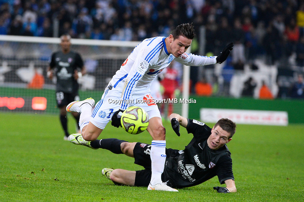 Florian THAUVIN - 07.12.2014 - Marseille / Metz - 17eme journee de Ligue 1 -<br />Photo : Gaston Petrelli / Icon Sport