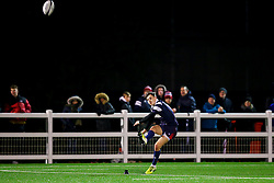 Tom Wilstead of Bristol Bears U18 - Rogan/JMP - 19/12/2019 - RUGBY UNION - Newlands Park - Cheltenham, England - Gloucester Rugby U18 v Bristol Bears U18 - Premiership Rugby U18 Academy League.
