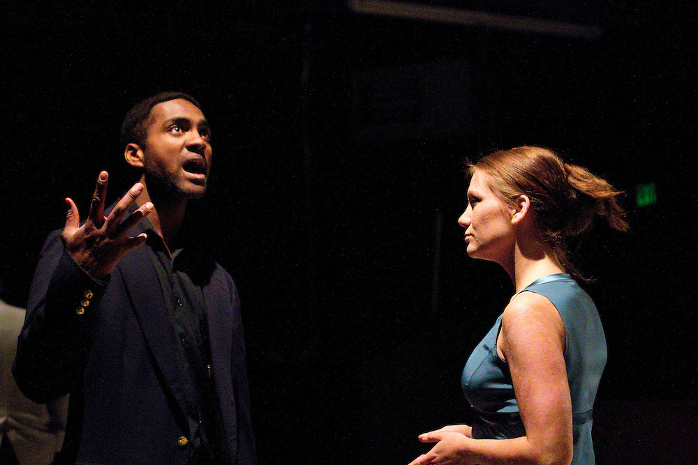 """Julius Caesar"" at the Fetterly Playhouse, directed by Angelina LaBarre"