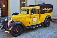 France, Côte d'Or (21), Beaune, la moutarderie Fallot // France, Côte d'Or, Beaune, Fallot mustard factory