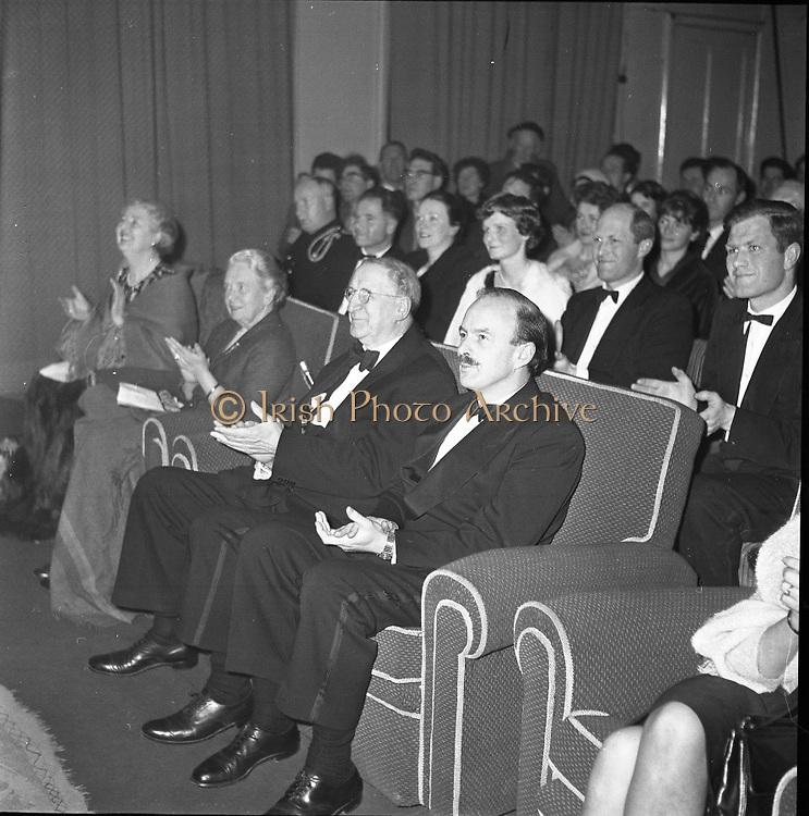 "Gael Linn, Opening night of ""Umor na haimleise""..05.02.1962"