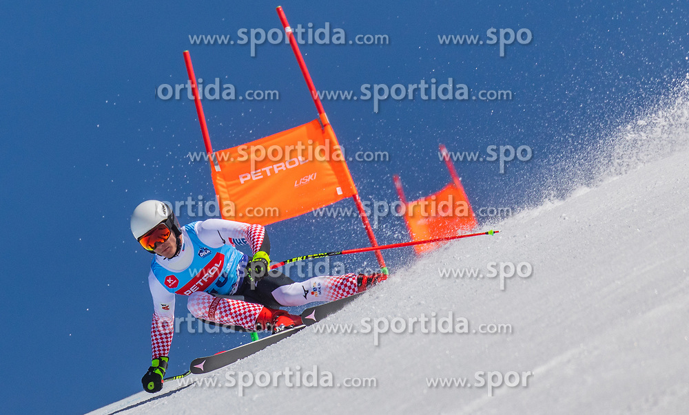 Kolega Samuel from Croatia during the downhill of Open National Championship of Slovenia 2019, on March 30, 2019, on Krvavec, Slovenia. Photo by Urban Meglic / Sportida