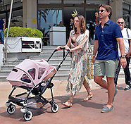 Tamara Ecclestone, Jay Rutland & Daughter In Cannes