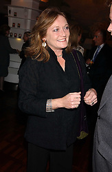 LEONORA, COUNTESS OF LICHFIELD at a party to celebrate the publication of 'E is for Eating' by Tom Parker Bowles held at Kensington Place, 201 Kensington Church Street, London W8 on 3rd November 2004.<br /><br />NON EXCLUSIVE - WORLD RIGHTS