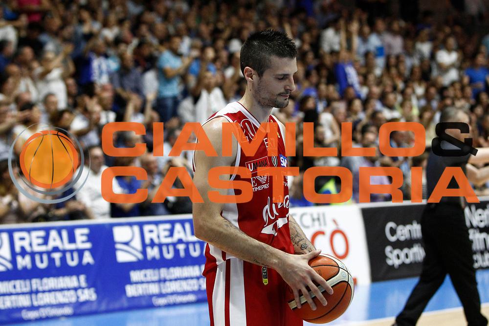 Cinciarini Andrea<br /> Betaland Capo D'Orlando - EA7 Emporio Armani Milano<br /> Lega Basket Serie A 2016/2017<br /> Playoff Gara 4<br /> Capo d'Orlando 18/05/2017<br /> Foto Ciamillo-Castoria