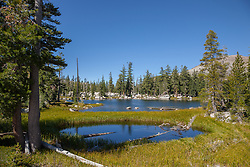 """Five Lakes 12"" - Photograph of one of the Five Lakes in the Tahoe area."