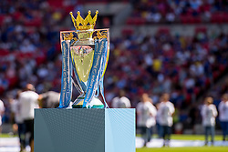 August 5, 2018 - The Premier League Trophy is on display during the 2018 FA Community Shield match between Chelsea and Manchester City at Wembley Stadium, London, England on 5 August 2018. (Credit Image: © AFP7 via ZUMA Wire)