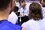 Ettore Messina<br /> Nazionale Italiana Maschile Senior<br /> Torneo di Tolosa<br /> Francia Italia France Italy<br /> FIP 2017<br /> Tolosa, 20/08/2017<br /> Foto M.Ceretti / Ciamillo - Castoria
