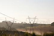 Nepomuceno_MG, Brasil...Torres de transmissao de energia eletrica em Nepomuceno...Towers of transmission of energy in the Nepomuceno. ..Foto: LEO DRUMOND / NITRO.....