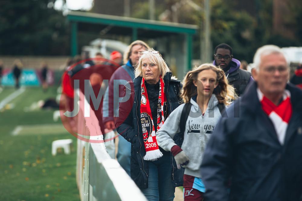 General build up to the game - Rogan Thomson/JMP - 06/11/2016 - FOOTBALL - The Northcourt Stadium - Abingdon-on-Thames, England - Oxford United Women v Bristol City Women - FA Women's Super League 2.
