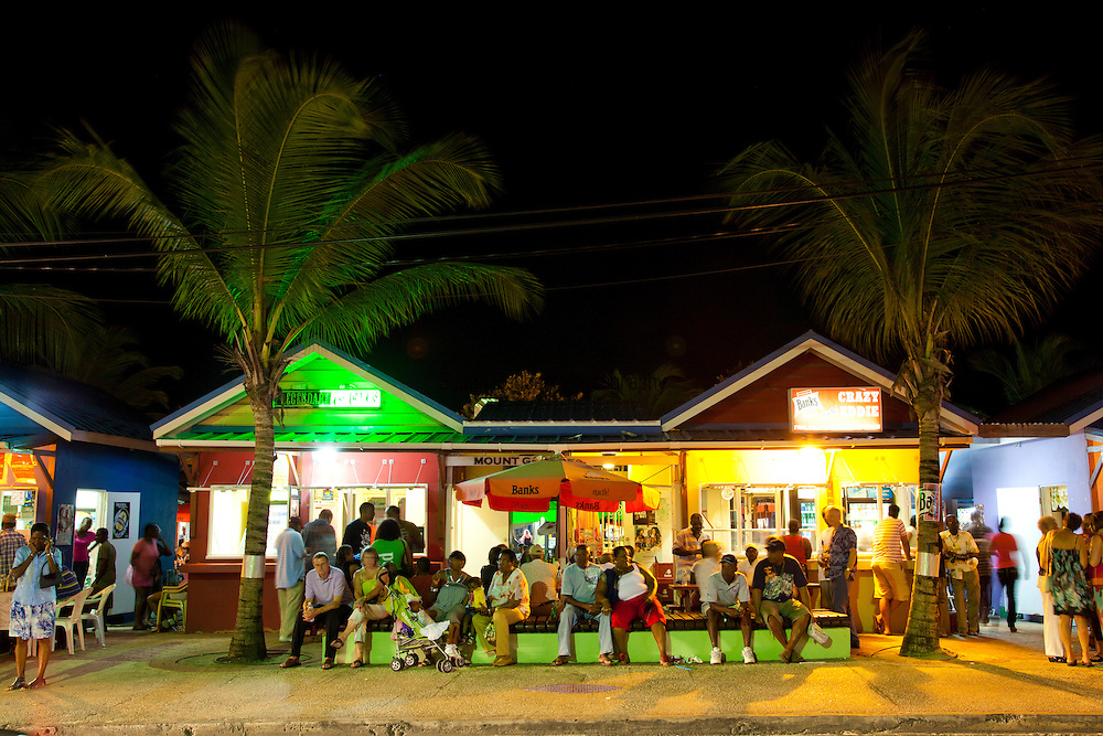 Each Friday and Saturday night hundreds of locals and visitors flock to Oistins for the Fish-Fry, an opportunity to enjoy the very best local food - fried and grilled fish, fish cakes, sweet potato, macaroni pie, and coleslaw