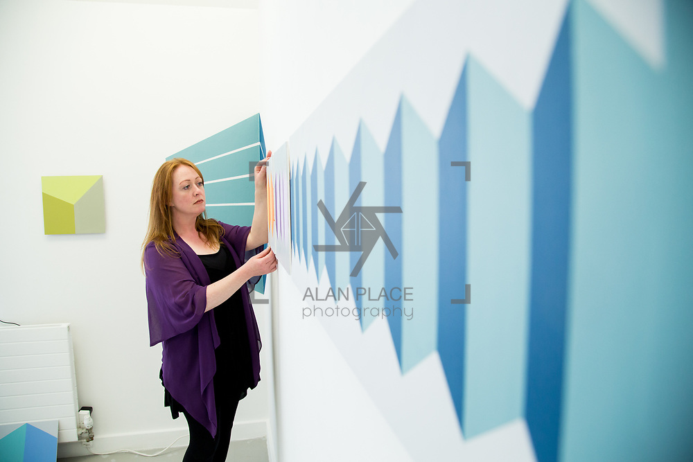 31.05.2017      <br /> Limerick School of Art and Design, LSAD Graduate Show Feature.<br /> Pictured is Cindy Fogarty. Picture: Alan Place.