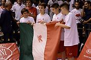 DESCRIZIONE : Reggio Emilia Lega A 2014-15 Grissin Bon Reggio Emilia - Banco di Sardegna Sassari playoff Finale gara 1 <br /> GIOCATORE : pregame<br /> CATEGORIA : pregame before<br /> SQUADRA : Grissin Bon Reggio Emilia<br /> EVENTO : LegaBasket Serie A Beko 2014/2015<br /> GARA : Grissin Bon Reggio Emilia - Banco di Sardegna Sassari playoff Finale gara 1<br /> DATA : 14/06/2015 <br /> SPORT : Pallacanestro <br /> AUTORE : Agenzia Ciamillo-Castoria /M.Marchi<br /> Galleria : Lega Basket A 2014-2015 <br /> Fotonotizia : Reggio Emilia Lega A 2014-15 Grissin Bon Reggio Emilia - Banco di Sardegna Sassari playoff Finale gara 1<br /> Predefinita :