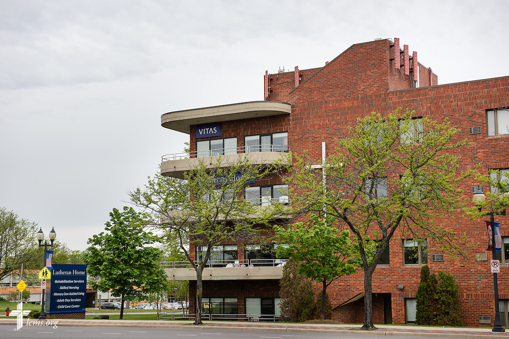 Exterior photograph of the Lutheran Home on Wednesday, May 20, 2015, in Milwaukee, Wis. LCMS Communications/Erik M. Lunsford