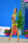 Bezzoubenko Patricia during qualifying at ball in Pesaro World Cup 10 April 2015.<br />