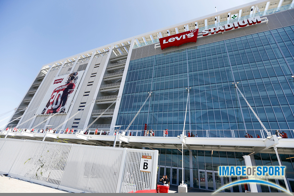 Aug 24, 2014; Santa Clara, USA; General view of Levi's Stadium prior to San Francisco 49ers game against the San Diego Chargers.