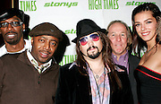 NEW YORK - OCTOBER 24: (L-R) Charlie Murphy, Donnell Rawlings, Bobby Black, Jackie Martling and Adrianne Curry attend the 6th Annual High Times Stony Awards at B.B. King's on October 20, 2006 on Broadway in New York City.