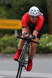 26.06.2015, Einhausen, GER, Deutsche Strassen Meisterschaften, im Bild Dana Wagner (RFC Freilauf Rossbach) // during the German Road Championships at Einhausen, Germany on 2015/06/26. EXPA Pictures © 2015, PhotoCredit: EXPA/ Eibner-Pressefoto/ Bermel<br /> <br /> *****ATTENTION - OUT of GER*****