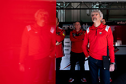 May 10, 2019 - Imola, BO, Italy - Luigi DallIgna Team Principal of Ducati Racing at box during the free practice 1 of the Motul FIM Superbike Championship, Italian Round, at International Circuit ''Enzo and Dino Ferrari'', on May 10, 2019 in Imola, Italy  (Credit Image: © Danilo Di Giovanni/NurPhoto via ZUMA Press)