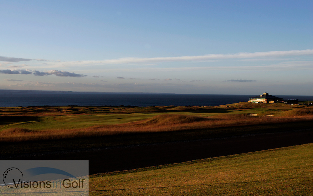 clubhouse at St. Andrews Bay GC, Scotland, Torrance Course <br /> Photo Credit:  Mark Newcombe / visionsingolf.com