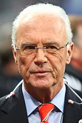 21-04-2010 VOETBAL: BAYERN MUNCHEN - OLYMPIQUE LYON: MUNCHEN<br /> Halve finale Champions League / Franz Beckenbauer <br /> ©2010-FRH-nph / Straubmeier
