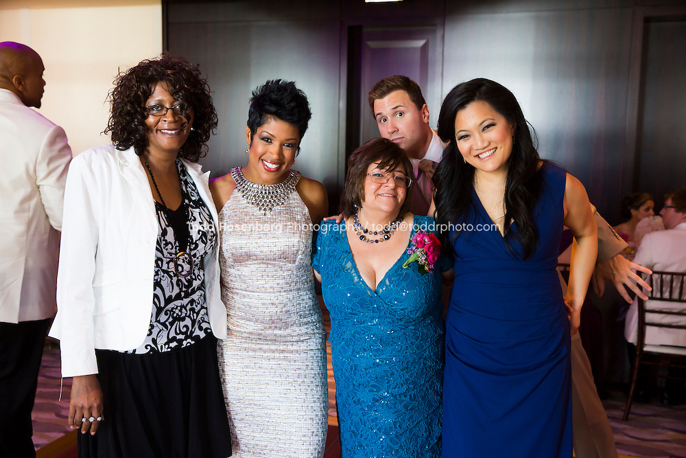 5/21/13 12:56:57 PM .The wedding of April and Sakou on Windy City Live... . © Todd Rosenberg Photography 2013