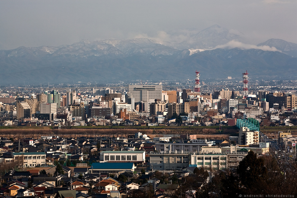 TOYAMA MEDICINEView of Toyama city with Toyama mountain in the background. Toyama City is the gateway to the Northern Japan Alps, which is well-known for the Tateyama-Kurobe Alpine Route and it attracts many winter-sport tourists. Toyama prefecture is located near the center of Japan and is approximately the same distance from the three largest cities in Japan-Tokyo, Nagoya and Osaka. Toyama's pharmaceutical tradition has a more than 300 years history. As it is located on the Japan sea, it is facing China and has been an importer of traditional Chinese medicine knowledge which it developed through the years. There are now approximately 100 manufactures and over 100 factories in Toyama in terms of pharmaceutical products and Toyama prefecture acquires a steady reputation as Japan's medicine manufacturing base.