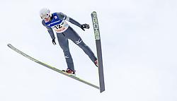 11.01.2014, Kulm, Bad Mitterndorf, AUT, FIS Ski Flug Weltcup, Bewerb, im Bild Yuta Watase (JPN) // Yuta Watase (JPN) during the FIS Ski Flying World Cup at the Kulm, Bad Mitterndorf, Austria on <br /> 2014/01/11, EXPA Pictures © 2014, PhotoCredit: EXPA/ JFK