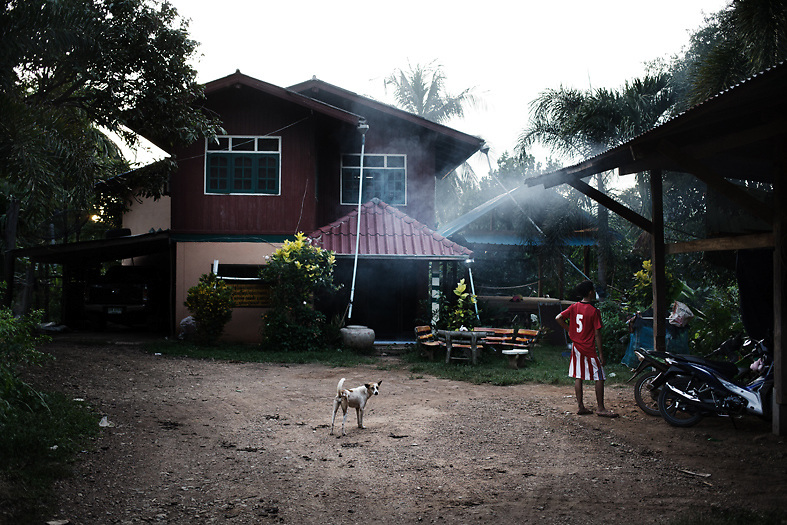 Daily life at Pak Ok village, where the first case of surrogate motherhood was recorderd. <br /> Lom Sak, Petchabun province, Thailand. Aug 24 2014<br /> Credit : Giorgio Taraschi for The New York Times