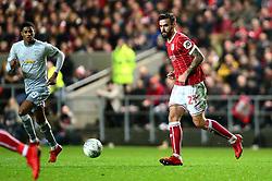 Marlon Pack of Bristol City - Mandatory by-line: Dougie Allward/JMP - 20/12/2017 - FOOTBALL - Ashton Gate Stadium - Bristol, England - Bristol City v Manchester United - Carabao Cup Quarter Final