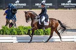 Sanavio Riccardo, ITA, Glock's Federleicht<br /> World Equestrian Games - Tryon 2018<br /> © Hippo Foto - Dirk Caremans<br /> 13/09/18